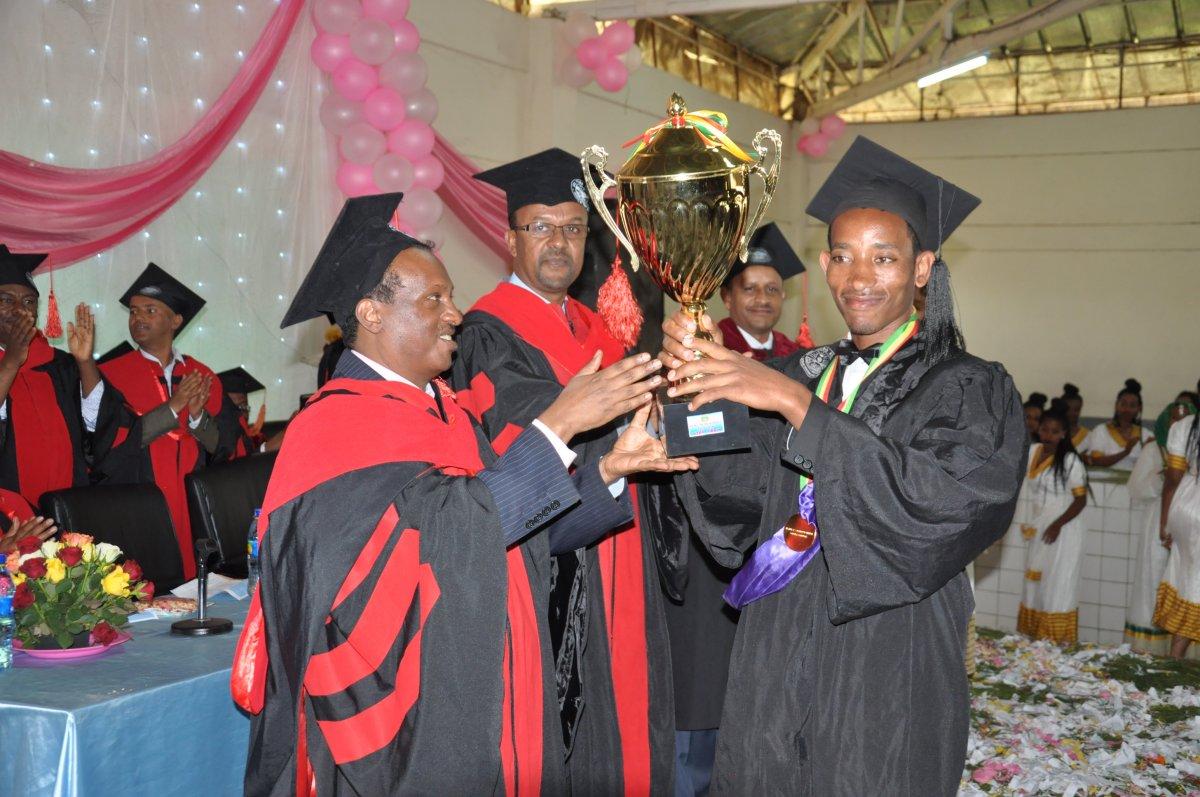 Debre Markos University 2009 Graduation Ceremony