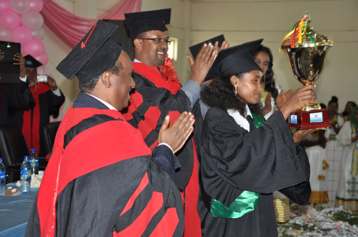 Debre Markos University 2009 Graduation Ceremony